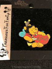 Disney Pin Winnie the Pooh Halloween 2002 Carving Pumpkin Bee Costume NEW