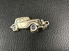 ancien porte clés  door key CITROEN TRACTION GARAGE ROUGEMONT