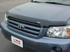 Bug Deflector Hood Shield (2001 - 2007 Toyota HIGHLANDER) Smoke Stone Bug Guard