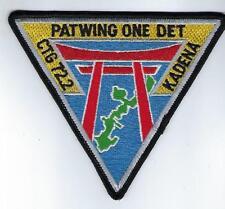 PATWING ONE DET Kadena  (US Navy Squadron Patch)(fm squadron 1992)
