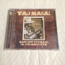 Taj Mahal - Main Point, Bryn Mawr PA March 1972 - CD (Blues)
