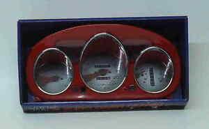 Red 96-00 Honda Civic Euro Dash Cluster Cover Eurodash Gauges Instrument