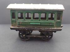 Passenger Carriage, Germany Pre-WW2 Tin Railroad Toy  O Gauage