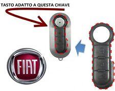 Gommino tasto COVER CHIAVE TELECOMANDO CHIAVE FIAT 500 GRANDE PUNTO EVO PANDA