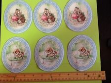 Beatrix Potter Peter Rabbit Fabric Iron On Appliques #12