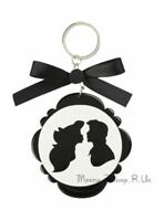 New Disney The Little Mermaid Ariel & Eric Silhouette Design Keychain Key Ring