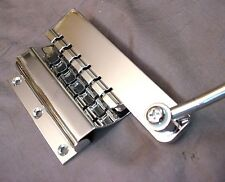 SHORT VINTAGE STYLE VIBRATO TREMOLO TAILPIECE FOR ELECTRIC GUITAR