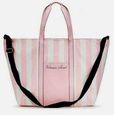 Victoria's Secret Weekender Tote Bag Pink white large beach bag