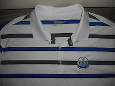 Men's Nike Golf Tour Performance Dri Fit Short Sleeve Polo Shirt Size 2XL White