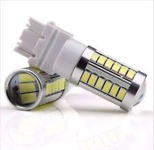 4X WhiteT25 3157 3156 33SMD Strobe LED Bulbs for Brake Tail Backup Reverse Light