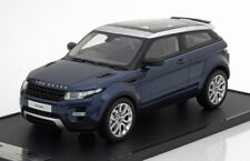 LAND ROVER EVOQUE 2011 BLUE SILVER METAL CENTURY DRAGON LRDCAREBB118 1/18 RESIN