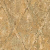 Tuscan Patina Diamond Wallpaper TE29302
