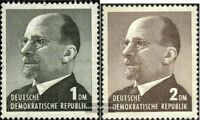 DDR 968-969 (kompl.Ausg.) gestempelt 1963 Staatsratsvorsitzender Ulbricht DM