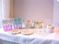 Candle Holders Lot of 15 Assorted Styles Colors Tea Light Candles Not Included