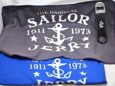 NEW Sailor Jerry Rum Swag Bar Shammy Buffer Towel Bottle Opener T-Shirt Lot (3)