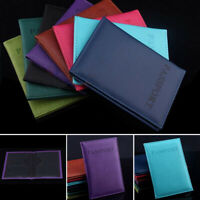 New Passport Holder Cover Wallet Blocking Leather Card Case Travel HOT