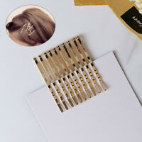 Hair Clips Hairpins Gold Metal Barrettes Bobby Pins Women's Hair Styling Tools