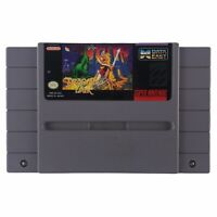 Dragon's Lair (Super Nintendo Entertainment System, 1993) Authentic Tested Works