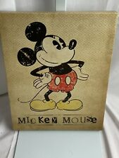 Artissimo Disney Mickey Mouse Vintage Inspired Canvas Art