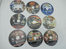 Lot of Nine (9) Fighting Games Playstation 3 - Tekken, Mortal Kombat, Street Fig