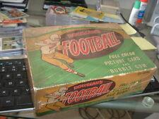 1954 Bowman Football Cards Empty Display Box 1 Cent TOUGH!