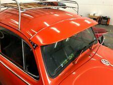 VW Bug Exterior SUN VISOR 1952-79 Beetle Super Ragtop Hot Rat ROD VINTAGE FIBER