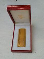 Must de Cartier, lighter, Paris, gold plated, boxed, number 82839x