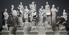 SET 12 Zwölf Griechische Olympische Götter Pantheon Figur Statue