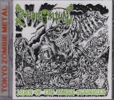Zombie Ritual ‎– Dawn Of The Zombie Slaughter CD - New (2012) Death Metal Japan