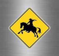 aufkleber auto moto motorrad reiter westernreiter cowboy rodeo autoaufkleber r9