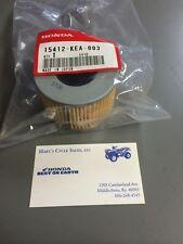 Genuine Honda Oil Filter, Part Number 15412-KEA-003 Rincon Rubicon Rancher FA