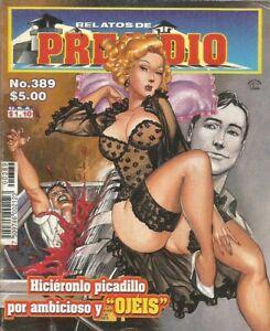 RELATOS DE PRESIDIO MEXICAN COMIC #389 MEXICO SPANISH HISTORIETA 2002 CRIME