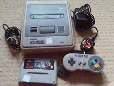 SUPER NINTENDO SNES CONSOLE + GAME -  Nintendo SNES Item
