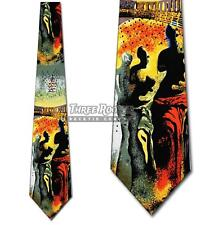 Dali Hallucinogenic Ties Salvador Toreador Necktie Mens Art Neck Tie Brand New