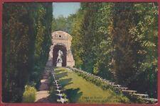 COMO CERNOBBIO 21 GRAND HOTEL VILLA D'ESTE - PARCO Cartolina viaggiata 1915