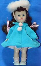 """Vintage 8"""" Vogue Ginny Doll SLW ML Tagged Coat"""