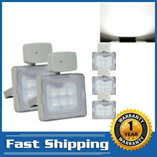5X 20W Led Flood Light Pir Motion Sensor Cool White Camping Outdoor Waterproof