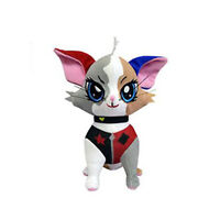 DC Pawzplay Harley Quinn The Calico 8 Inch Plush NEW Toys