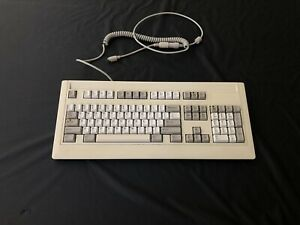 vintage 1989 computer keyboard With PS/2 Adapter (Tested)