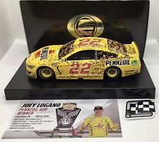 "2020 1/24 #22 Joey Logano ""Pennzoil Las Vegas Win"" ElIte 1 of 170 SD Shipping"