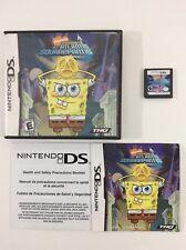 Spongebob Atlantis Squarepantis Nintendo DS CIB Complete Auth Tested