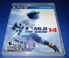 MLB 14: The Show Sony PlayStation 3 *Factory Sealed! *Free Shipping!