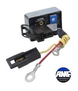 New Voltage Regulator for Ford 70 90 100 Amp Alternators Makes Unit One 1 F733L