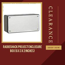 Radioshack Project Enclosure Box 6 X 3 X 2 Inches