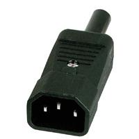 1 Fiche Prise Electrique Secteur 3 Broches Mâle 220 Volt 10 Ampéres