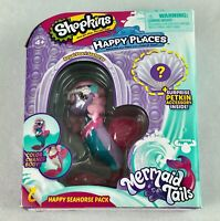 Shopkins Happy Places Royal Pearl Seahorse Color Change Mermaid Tails New in Pkg
