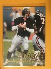 1997 Fleer Raiders Jeff George Football Card #125