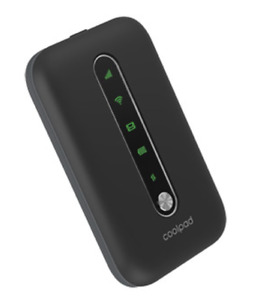 COOLPAD Surf CP332ABLK 4G LTE Black Mobile Hotspot MiFi USED ONLY 1 WEEK!