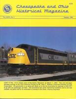 C&O Chesapeake & Ohio V26 N1 Jan.1994 Virginia Central Railroad Fulton Terminal