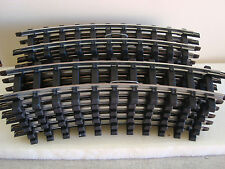 Bachmann G-Scale Full Circle Of Standard Starter Set Curve Track NEW, 12 Pieces